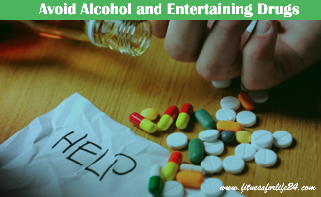 Alcohol and Entertaining Drugs