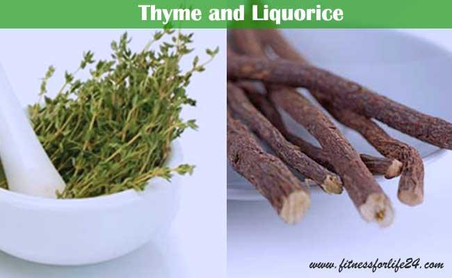 Thyme and Liquorice