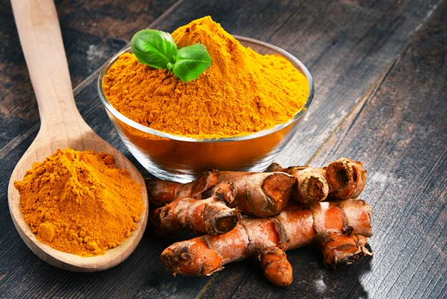 Turmeric for wound healing