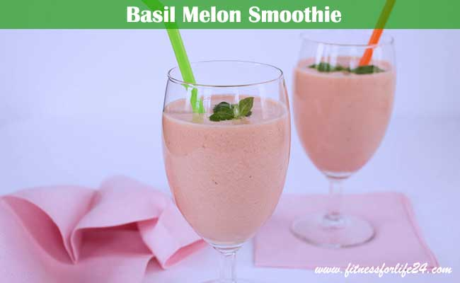 Basil-Melon-Smoothie
