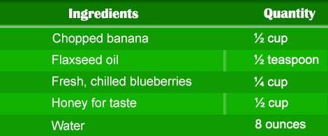 Blueberries Smoothie
