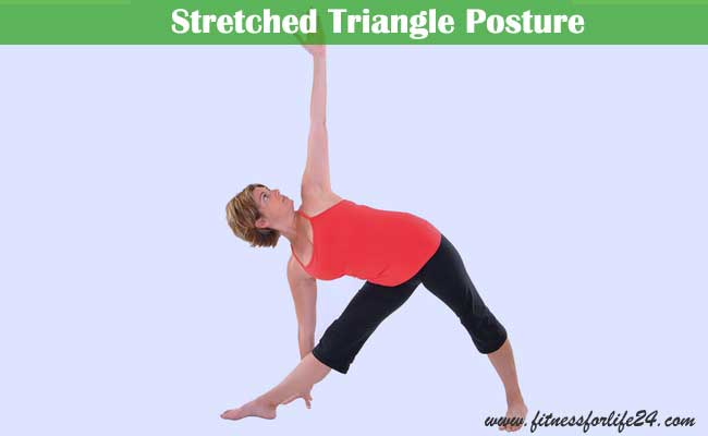 Stretched Triangle Posture