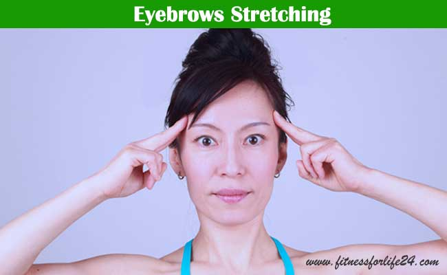 Eyebrows Stretching