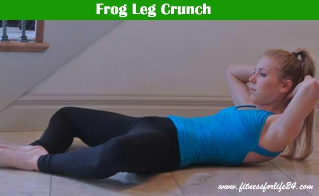 Frog Leg Crunch