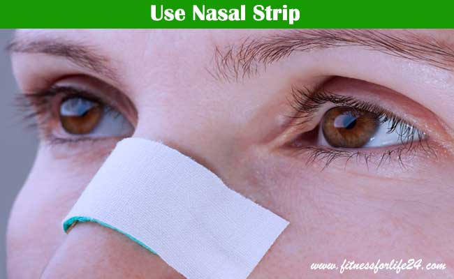 Use Nasal Strip
