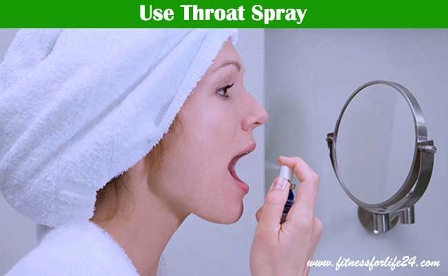Use Throat Spray