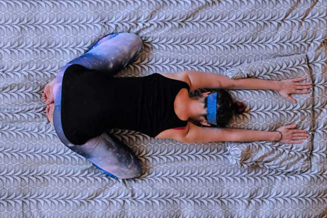 bed time yoga