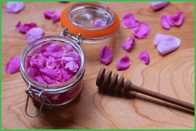 honey rose oil bath
