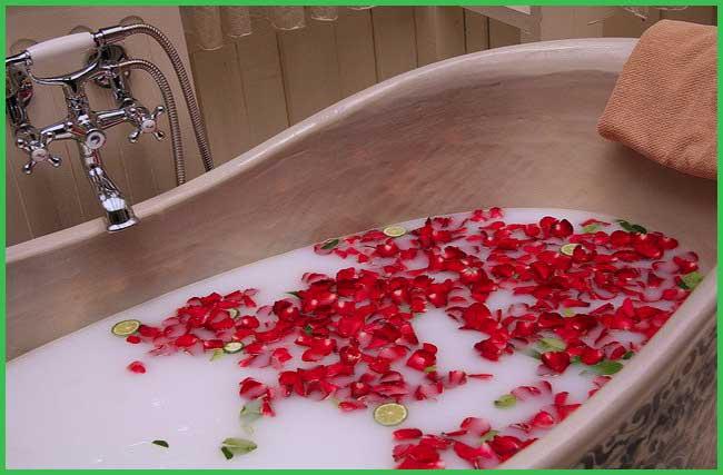 natural bubble bath