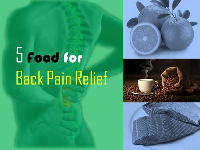 Food for Back Pain Relief