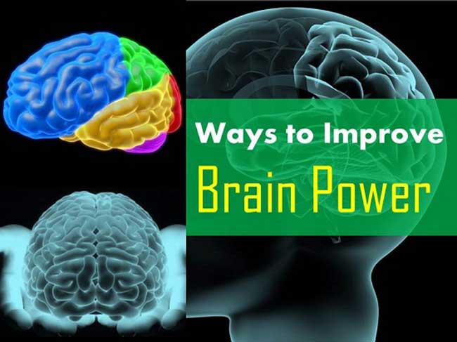 Ways to Improve Brain Power