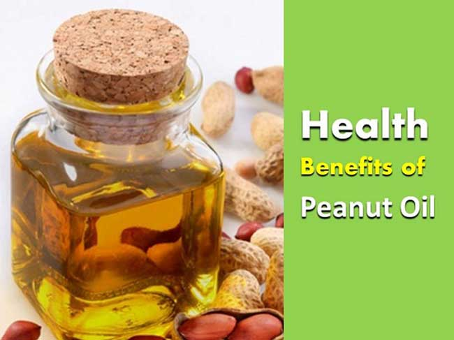 benefits of Peanut Oil