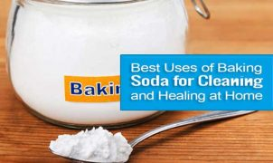 Bicarbonate of soda for cleaning