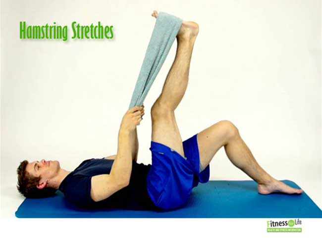 Hamstring Stretches for back pain