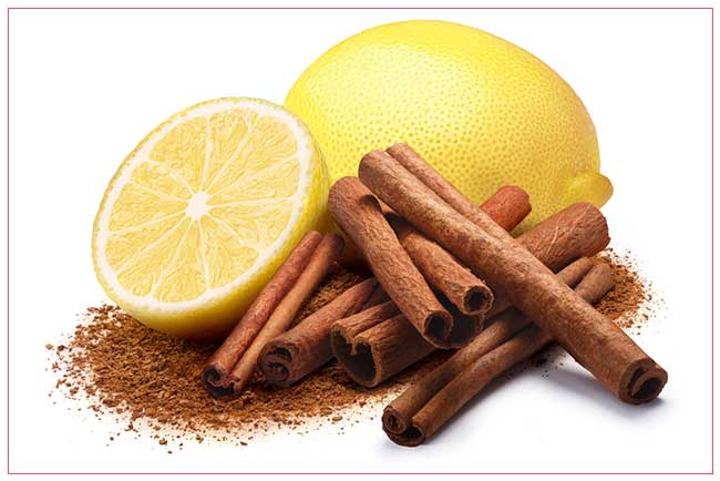 Cinnamon and Lemon Face Pack