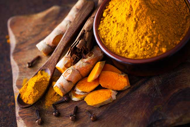 Clove and Turmeric Face Pack