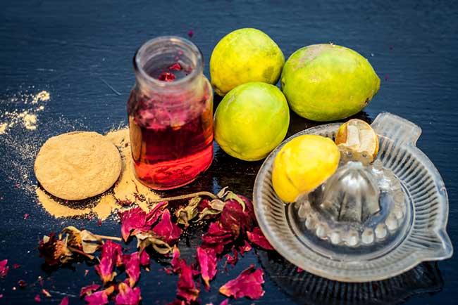 Multani Mitti and Lemon Face Pack